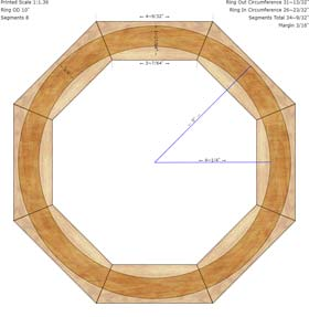 Segmented Turning Calculator